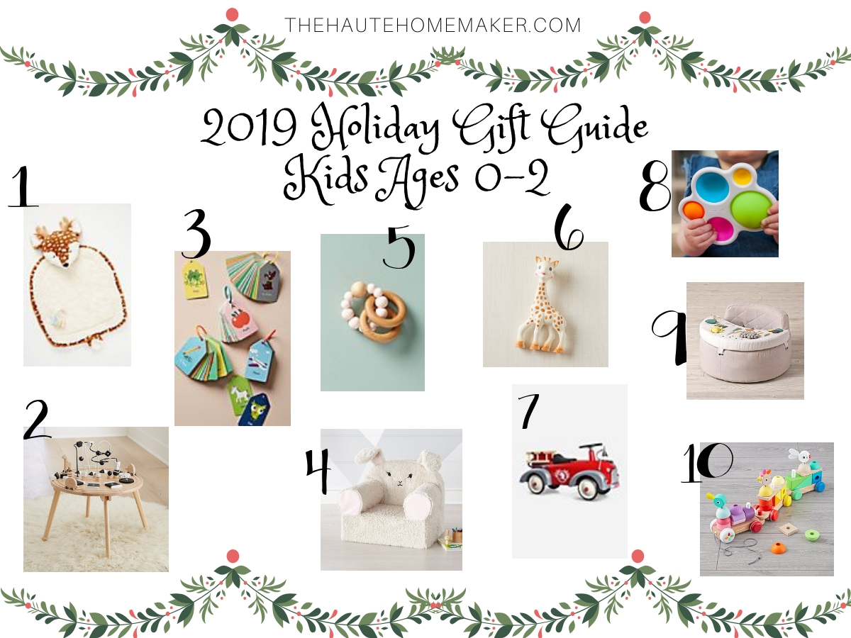 kids gift guide for ages 0-2