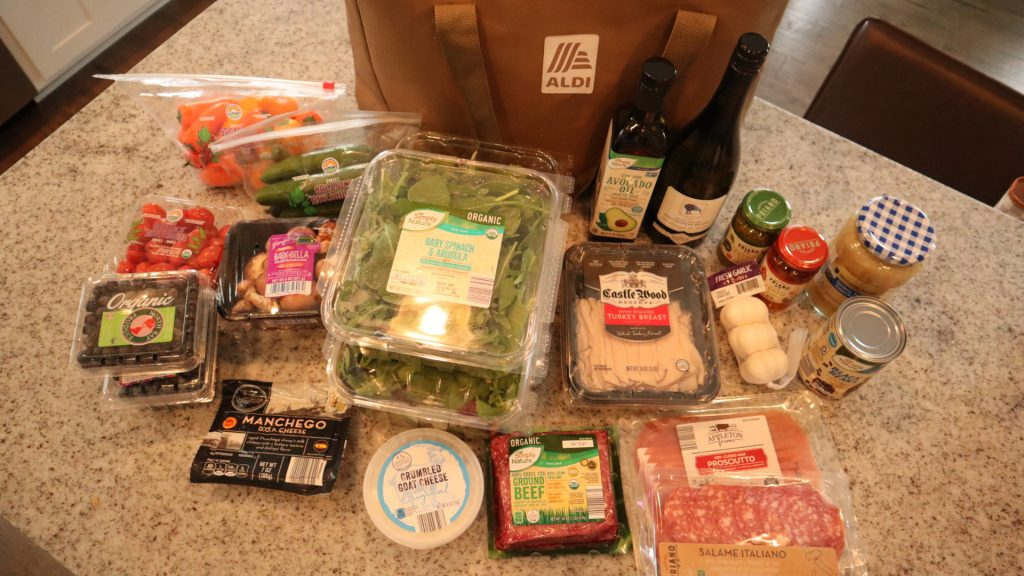 our Aldi favorites, eating organic on a budget
