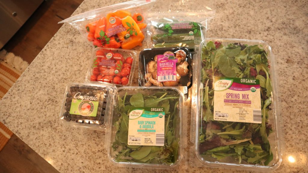 our Aldi favorites for eating organic on a budget.